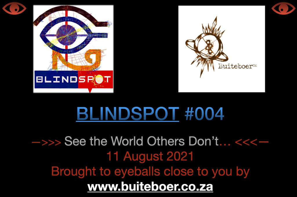 BLINDSPOT #004 – Afghanistan, Zambia, and State Security centralised in the Presidency of South Africa